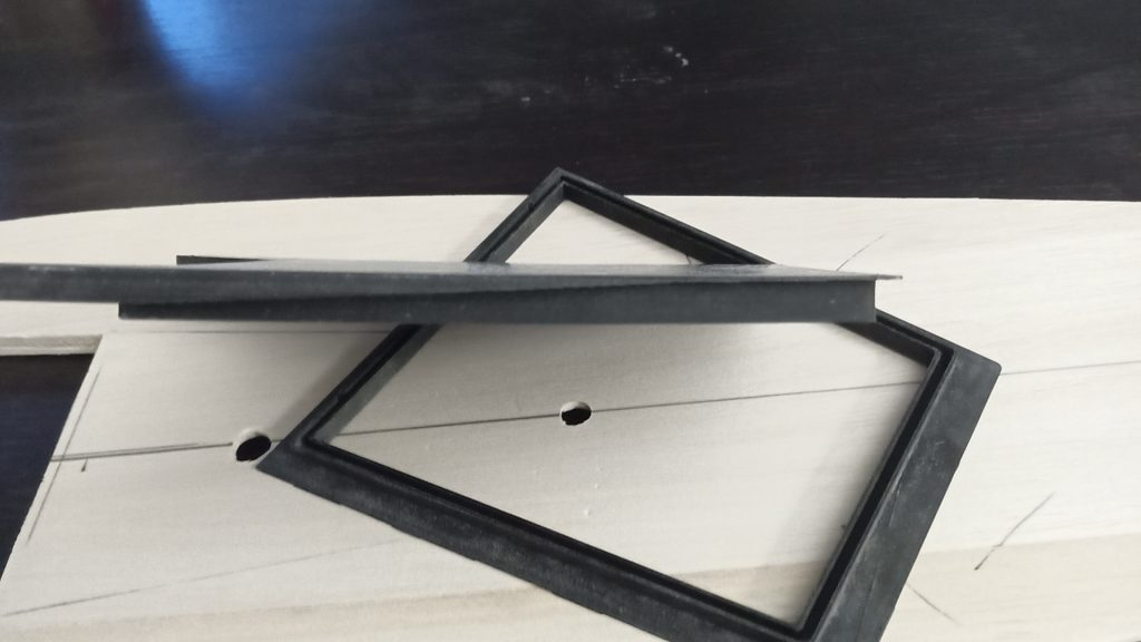 3d printed hatch - curved